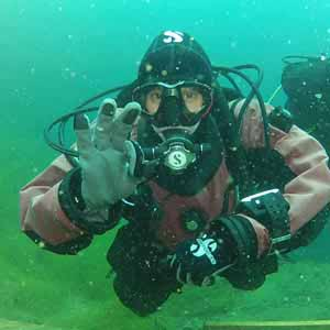 Visit Loch Low-Minn to experience the best diving for miles around!